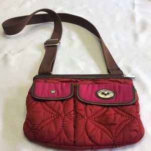 Fossil Per Key Quilted Crossbody Bag